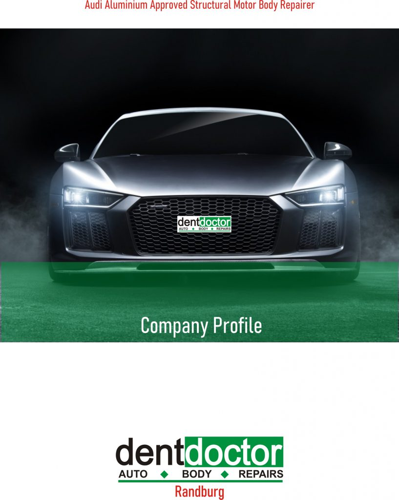 Dent Doctor Company Profile 2020 Front cover